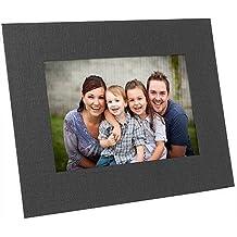 Black cardstock Dual-Easel photo 8x10 frame / plain border sold in 25s - 8x10