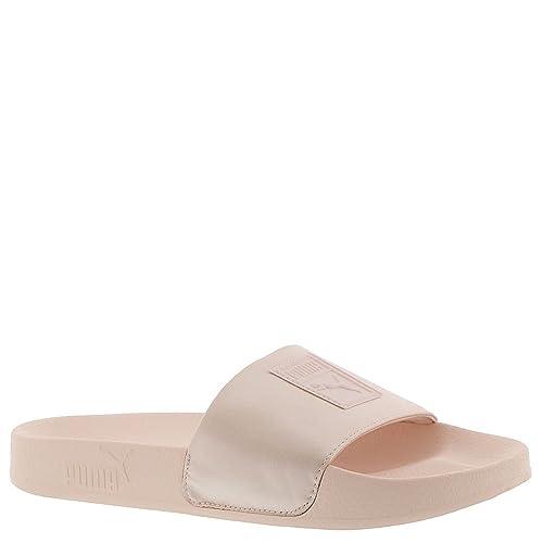1c1b9d533 PUMA Women s Leadcat Satin Pearl Pearl 10.5 B US  Amazon.co.uk  Shoes   Bags