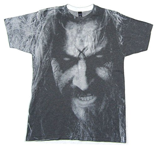 Rob Zombie Sublimated Face All Over Print T Shirt (L) White