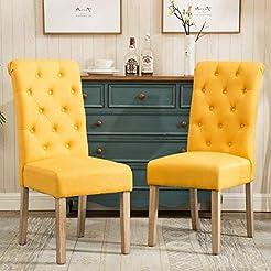 Roundhill Furniture Habit Solid Wood Tuf...