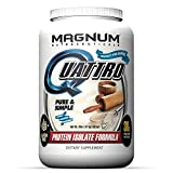 Magnum Nutraceuticals Quattro Protein Powder – 2lbs – Pure & Simple – Protein Isolate – Lean Muscle Creator – Metabolic Optimizer