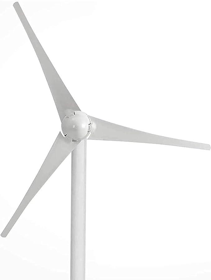 SYN-GUGAI DC 12V / 24V 500W / 600W / 700W / 800W generador de Viento híbrido generador de turbina eólica turbina generador de Viento 3 Cuchillas 20A Kit de generador de Viento,800W24V-5 Leaves