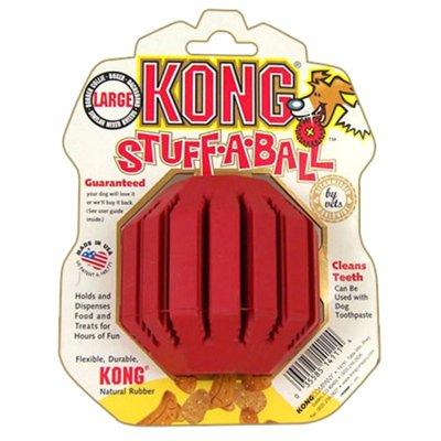 Kong Stuff-a-Ball Jouet de Dentition pour Chien Taille L KS1