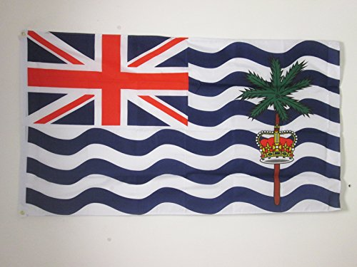 AZ FLAG British Indian Ocean Territory Flag 3' x 5' - British Flags 90 x 150 cm - Banner 3x5 ft