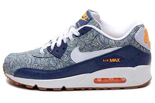 best loved 76402 4f006 Nike Women s Wmns Air Max 90 LIB QS, LIBERTY-BLUE RECALL WHITE ...