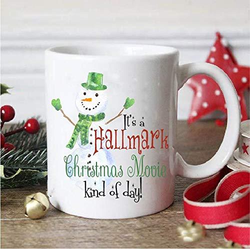 - Snowman Hallmark movies,santa mug,christmas mug,christmas gift,dirty santa gift,christmas gift mug,santa claus mug,office gift,coworker gift