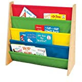 Tot Tutors Kids' Book Rack, Primary Colors