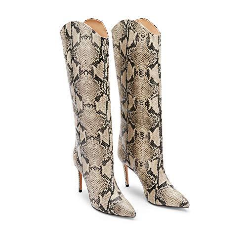 SCHUTZ Women's Maryana Snake Embossed Leather Boot