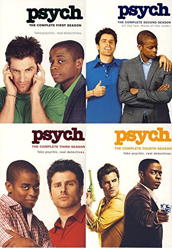 movie psych the complete first four seasons seasons 14