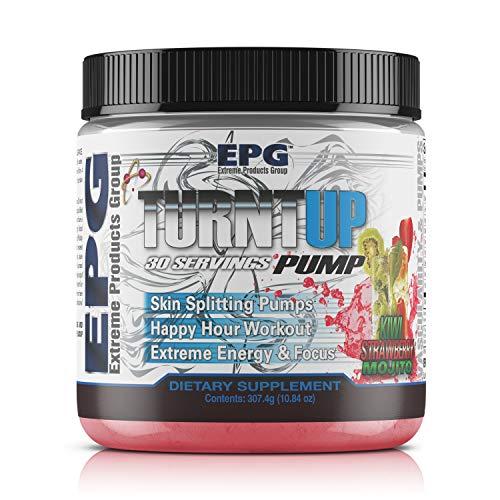 EPG Turnt Up Pre Workout Powder (Kiwi Strawberry -