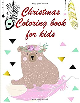 Christmas Coloring Book For Kids Coloring Pages With Funny Easy