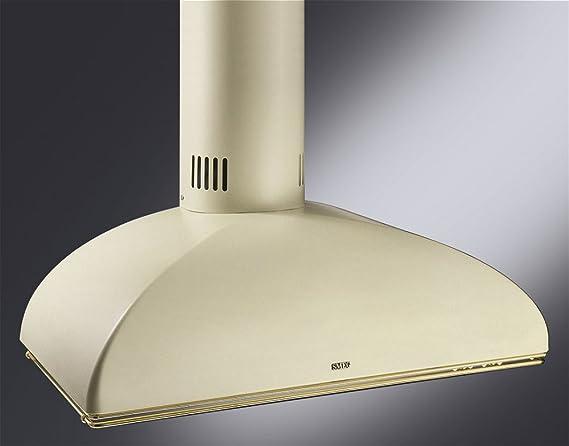 Smeg KSE89P9 pared Campana campana extractora Crema Beige Nostalgie Chimenea Esse 90 cm: Amazon.es: Grandes electrodomésticos