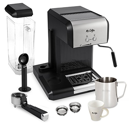 Mr. Coffee Cafe 20-Ounce Steam Automatic Espresso and - Import It All