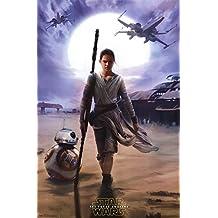 Star Wars The Force Awakens - Rey Poster Print (24 x 36)