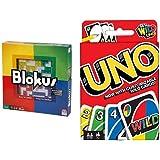 Blokus Game and Uno Card Game Bundle
