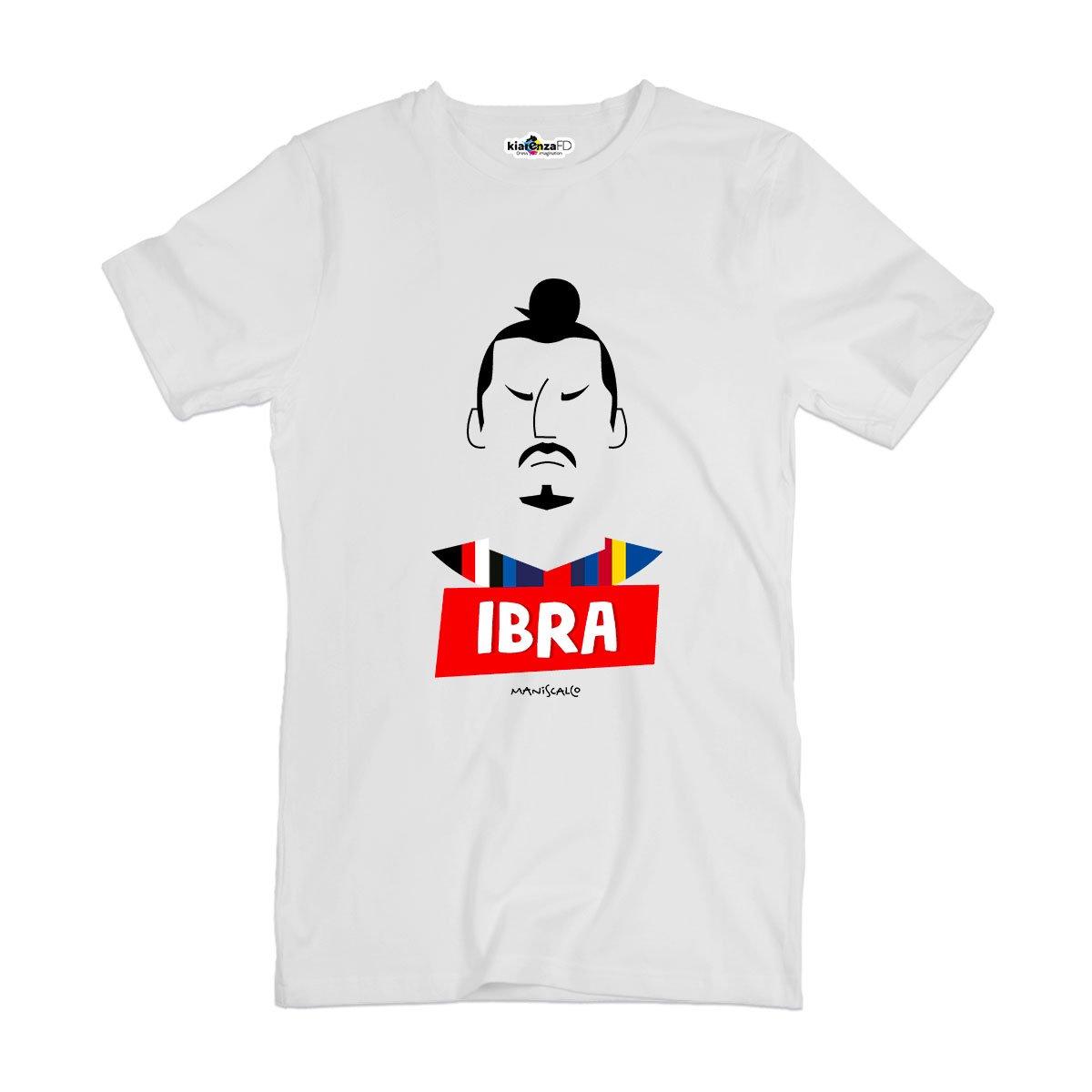 Camiseta T-shirt parodia Vintage Creation Ibrahimovic Ibra ...
