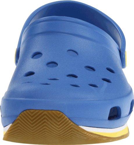 Crocs Retro Clog - Zapatillas zuecos, unisex Azul (Varsity Blue/Burst)