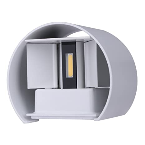 Led Outdoor Wall Lamps Led Outdoor Wall Light Up Down Ip67 Waterproof White Black Modern Sconce Wall Fixtures Lamp 220v 110v Exterior Home Lighting Elegant Shape
