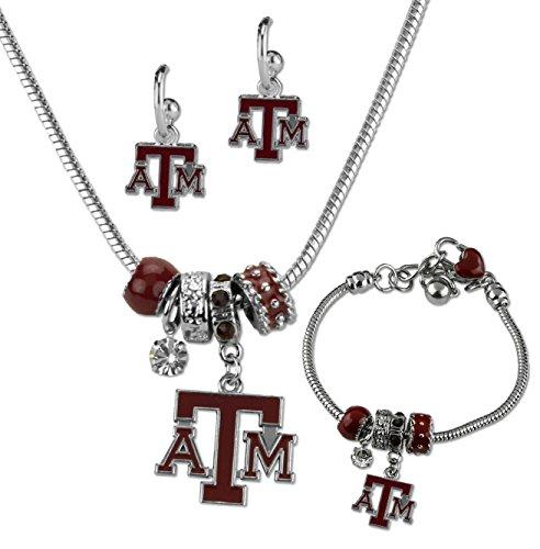 - Sandol Texas A&M Aggies MVP Jewelry Combo (Bracelet, Necklace, Earrings)