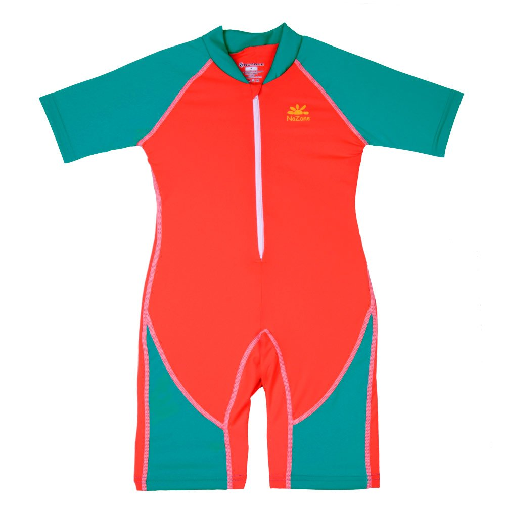 Nozone Kids Ultimate One-Piece Sun Protective Swimsuit in Flash/Mystic, 4 509FLMY4