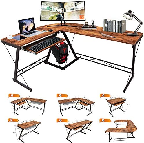 DRM Corner Computer Desk