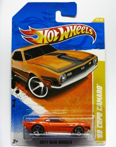 2011 Hot Wheels 25/244 - New Models 25/50 - '68 Copo Camaro (Orange) ()