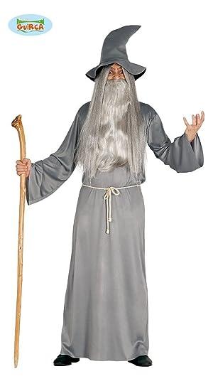 Disfraz de Mago gris para hombre