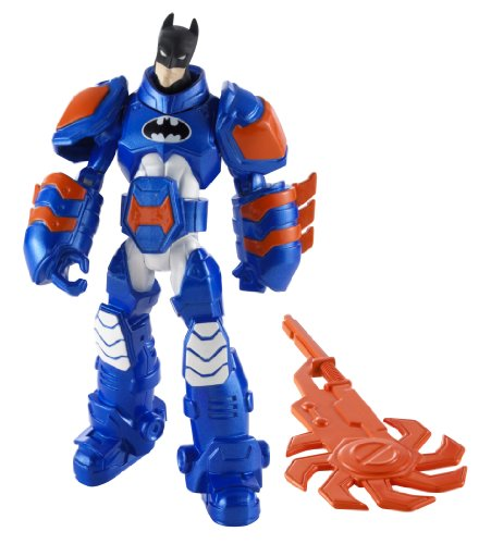 Batman Power Attack Mission Thermo Armor Batman Figure