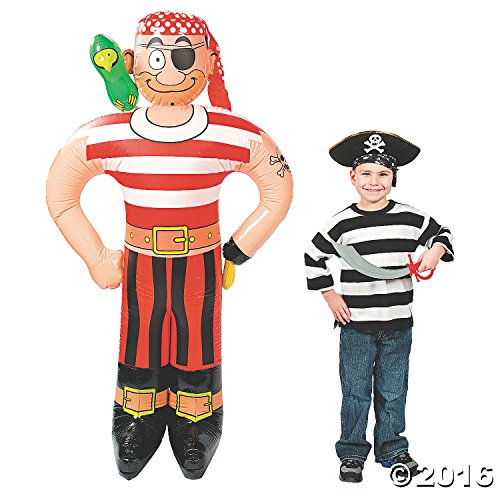 Inflatable Pirate (Jumbo Inflatable Pirate [Toy] by Fun)