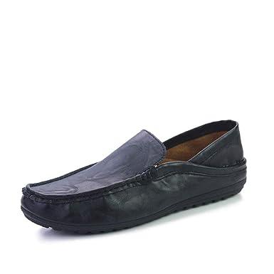DAN Mocasines Para Hombres Conjuntos De Pisos De Otoño Invierno Zapatos De Hombre Transpirables Para El Pie Zapatos Casuales Cómodos Estudiantes Zapatos ...
