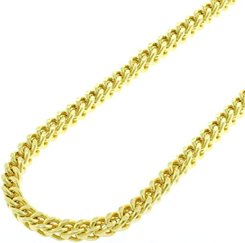 "Solid 14kt gold necklace Gold chain box 16 18 20 22 24/"" Box Chain box chain W//Y"