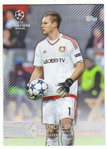 fan products of 2015 Topps UEFA Champions League Showcase #112 Bernd Leno BAYER 04 LEVERKUSEN