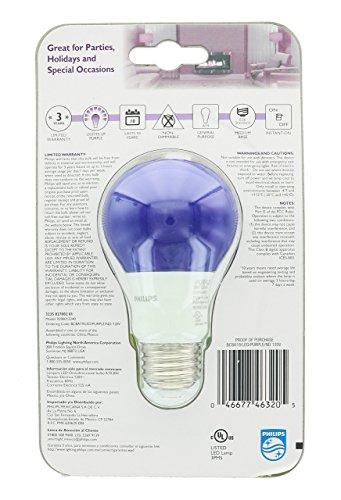 Purple Led Light Bulbs - 9