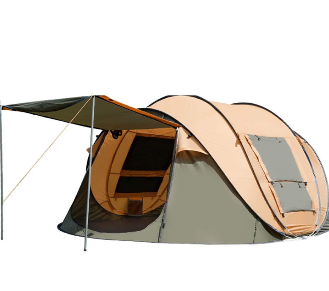 BBX Automatisches wasserdichtes Outdoor-Zelt mit Sonnendach für 4-5 Personen Winddichter Schneeunterstand 5000 mm Wassersäule Strand Camping Wandern Backpacking Trekking