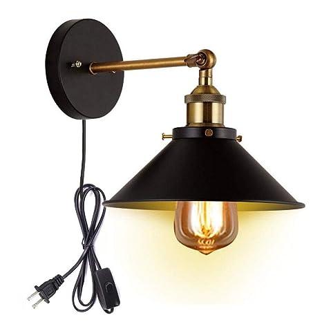Retro Vintage Loft Industrial Adjustable Wall Lamps Sconce E27 Ac 110v 220v Led Lighting Wall Lights For Living Room Bedroom Traveling Led Indoor Wall Lamps