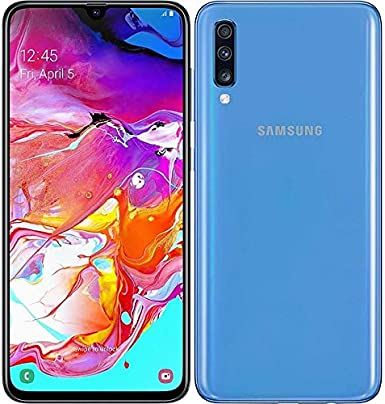 Amazon Com Samsung Galaxy A70 A705m 128gb Duos Gsm Unlocked Android Phone W Dual 32mp Camera International Variant Us Compatible Lte Blue