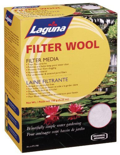 Laguna PowerFlo Pro Filter Wool, 5 – 1 4-Ounce by Laguna (English Manual)