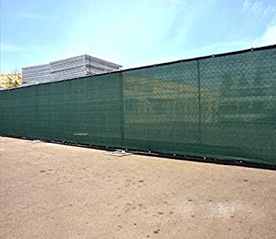 TruePower Privacy Fence Screen 6' Tall x 50'' Long - Green for Patio, Deck, Balcony, Backyard, Fence, Apartment Privacy