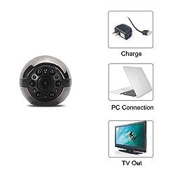 Heymoko 1080P/720P Full HD 6 LED Mini Hidden Camera