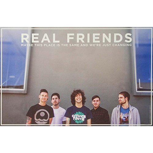 Real Friends - Concert Promo Poster