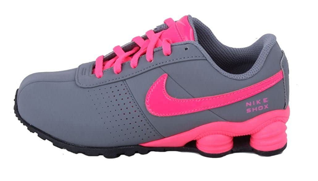 huge selection of bb1a0 bc905 Amazon.com   Nike Shox Deliver SMS PS Kids Cool Grey Hyper Pink Black  Sneakers   Running