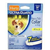 Hartz Ultraguard Flea & Tick Dog Collar 20'', White 1 ea (Pack of 12)