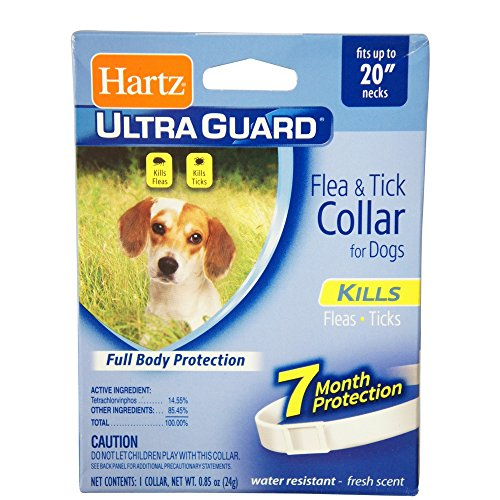 Hartz Ultraguard Flea & Tick Dog Collar 20'', White 1 ea (Pack of 18) by HARTZ