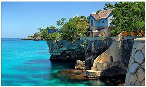 Casas Negril Jamaica ciudades muebles & decoración imán imanes de ...