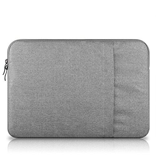 G7Explorer Water-resistant Notebook Computer Case Laptop Sleeve Case Bag For Apple MacBook Pro 13' Macbook Air 13' (Gray)