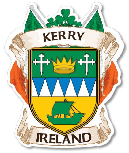 Kerry County Ireland Irish Car Bumper Sticker/decal