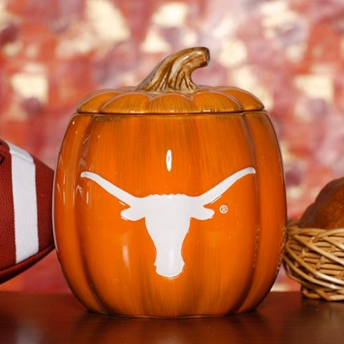 cumberland Ceramic Pumpkin Jar NCAA Team: Texas