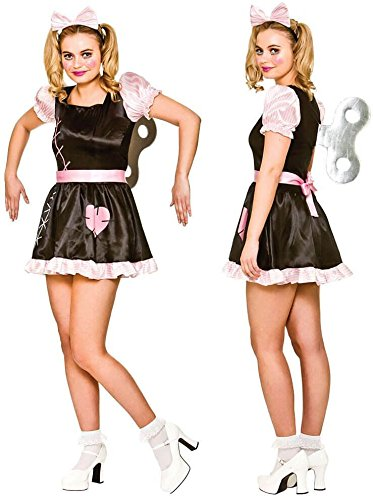 Costumes Scary Wind Up Doll - Wind Up Doll Women's Costume Scary