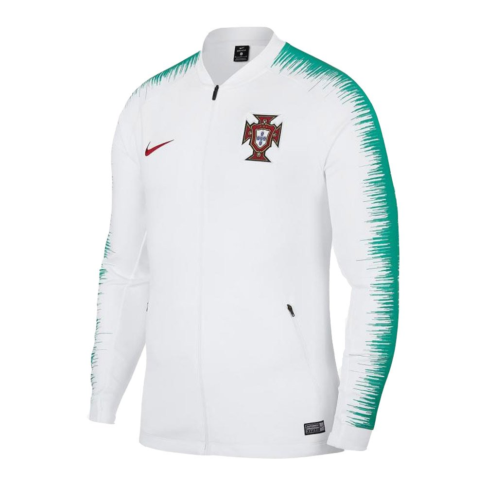 2018-2019 Portugal Nike Anthem Jacket (White) B07BS12M7C Large 42-44