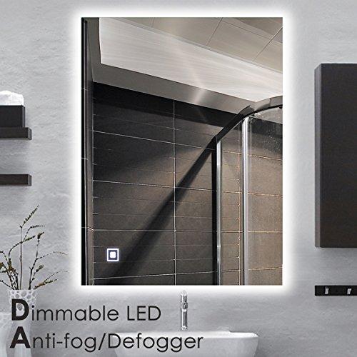 New Led Countertop Vanity Mirrors Backlit Mirror Bathroom